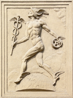 Mercury_relief_in_Olomouc